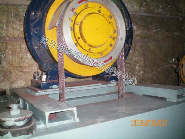 无机房电梯降噪系统